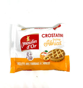 Crostatini tartelette fourrage abricot Moulin d'or