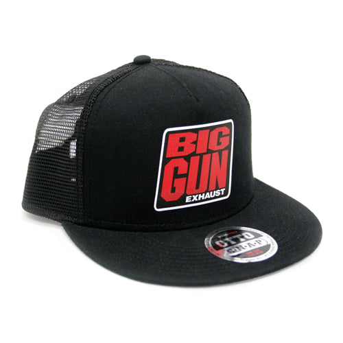 Gear - Mesh back Snapback Logo Hat - Black