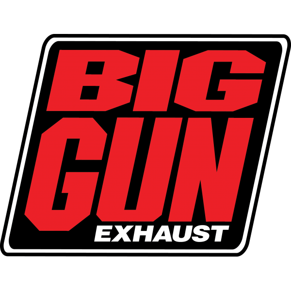 Gear - Big Gun Exhaust Logo Decal (10