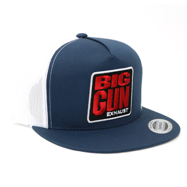 Gear - Blue / White Snapback Logo Hat