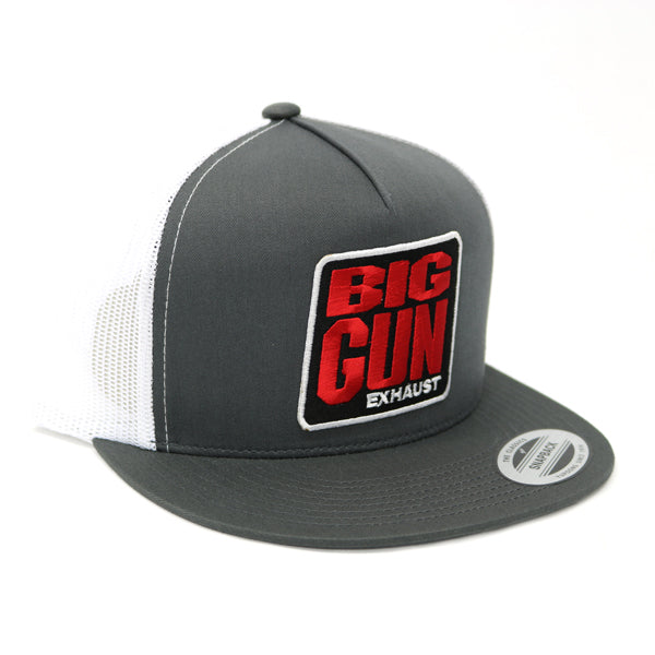 Gear - Grey / White Snapback Logo Hat