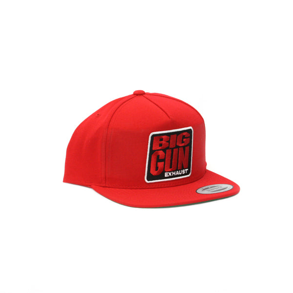 Gear - Red Snapback Logo Hat