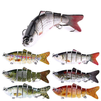 3 Pack Otterk Bass Crushers Bionic Minnows (Random Colors)