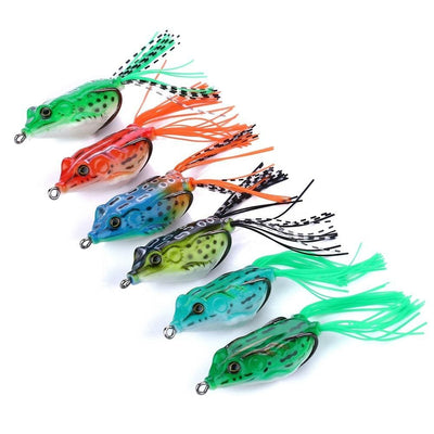 Otterk Splash soft frog fishing lures