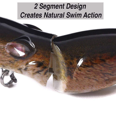 "Otterk Zag 2.5"" Real Swimming Action Segmented Field Mouse 40% OFF Special"