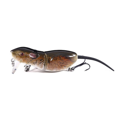 "Otterk Zag 2.5"" Real Swimming Action Segmented Field Mouse"