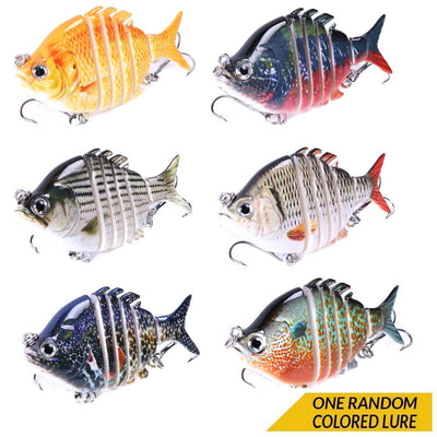 "Otterk Crazy Panfish 3"" Segmented Swimming Lure"