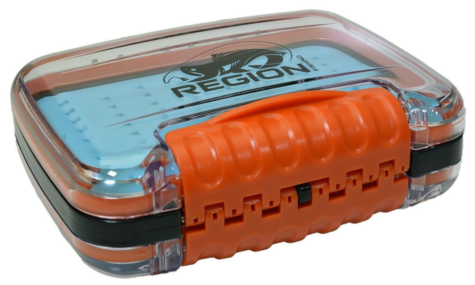 Double Sided Fly Fishing Fly Box, Silicone insert, Waterproof & Compact