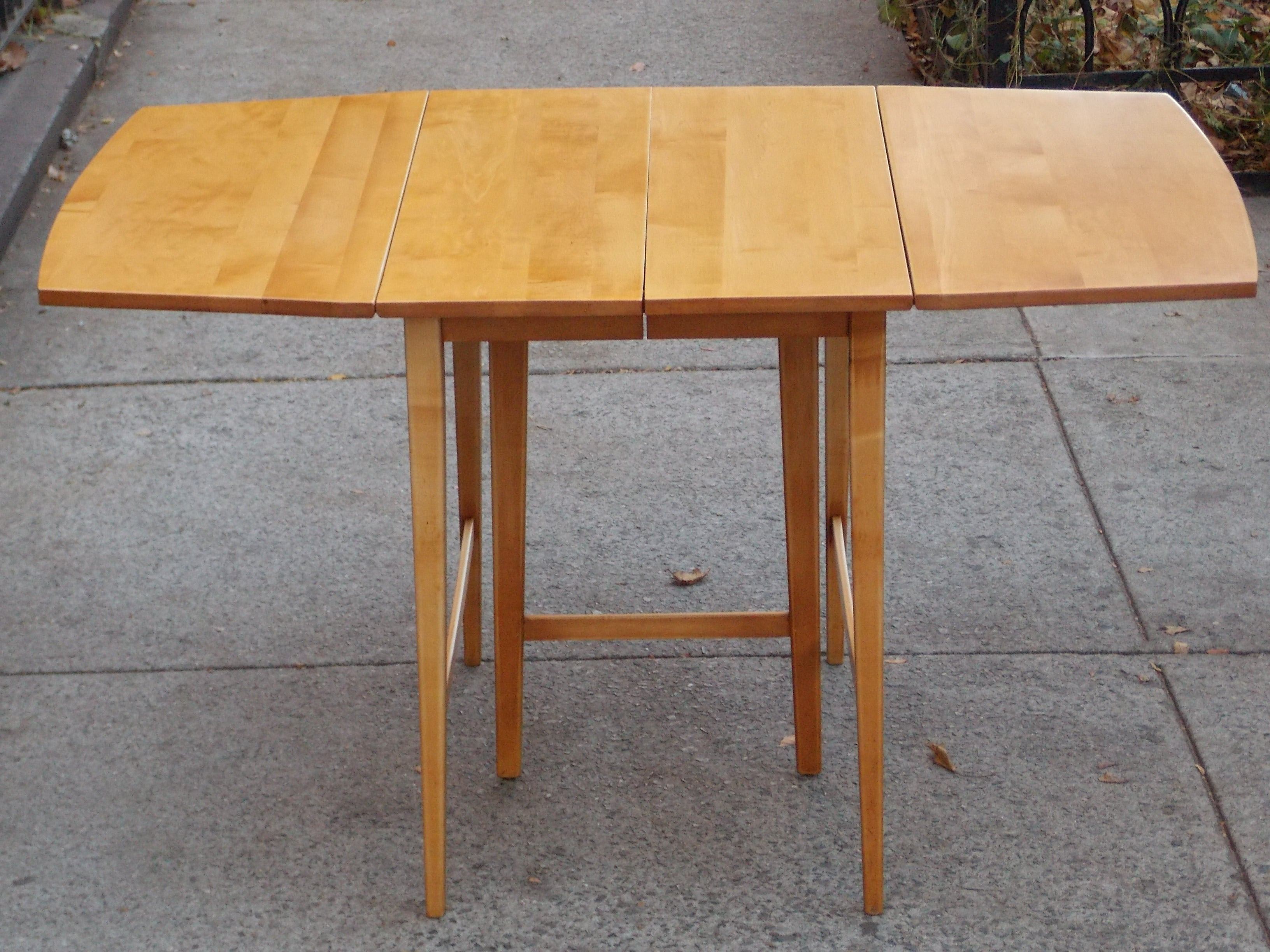 RESTORING A PAUL MCCOBB DROP-LEAF DINING TABLE