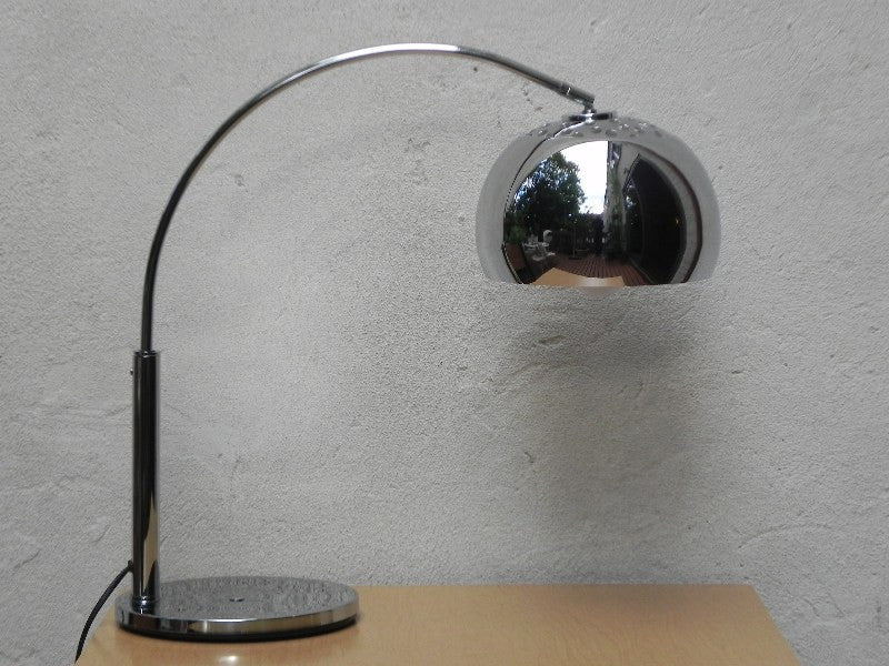 Chrome Arc Modern Desk Lamp I Like Mikes Mid Century Modern