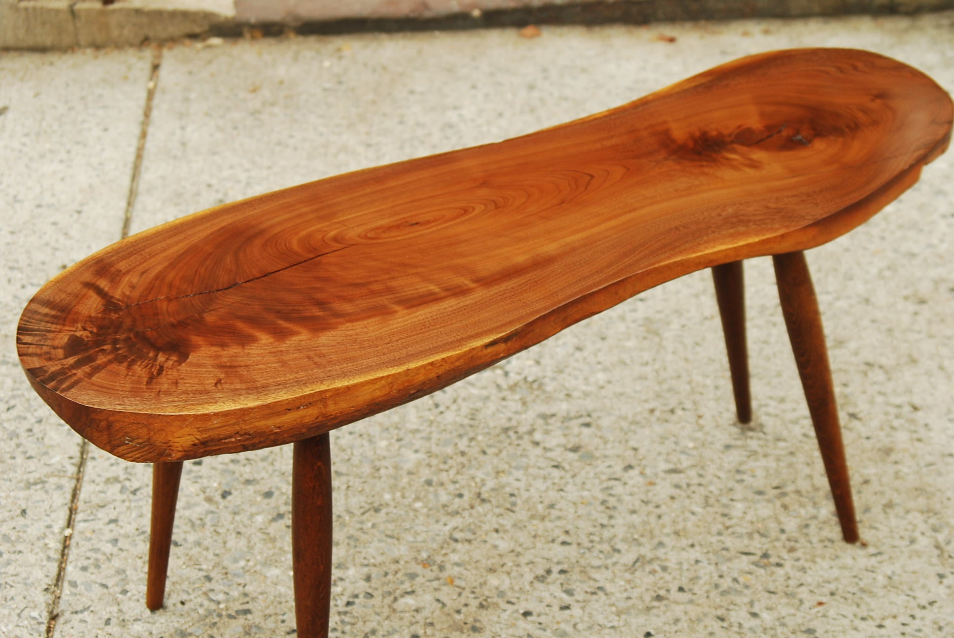 SOLD PACT AMORPHIC TREE SLAB COFFEE TABLE I Like Mikes Mid