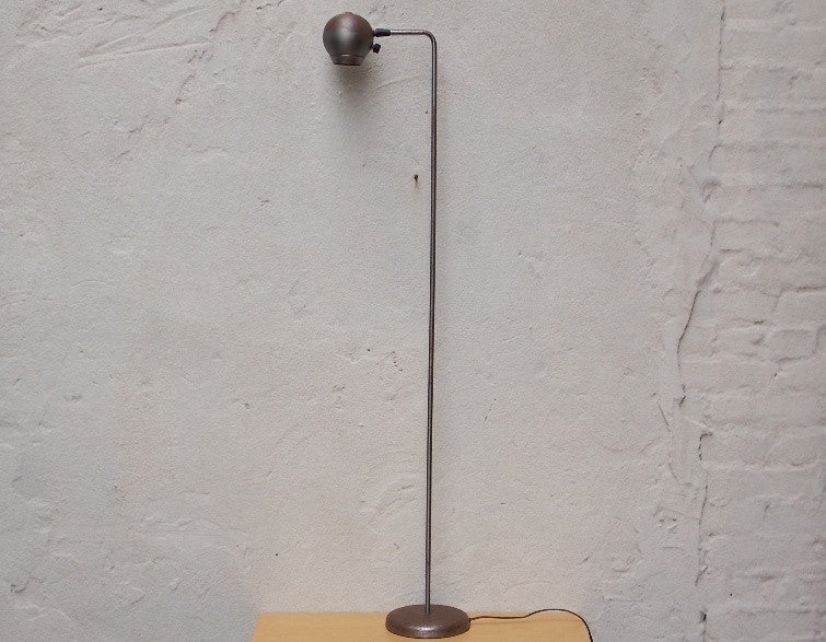 Vintage kovacs raw steel floor lamp industrial chic i like mikes vintage kovacs raw steel floor lamp industrial chic aloadofball Image collections