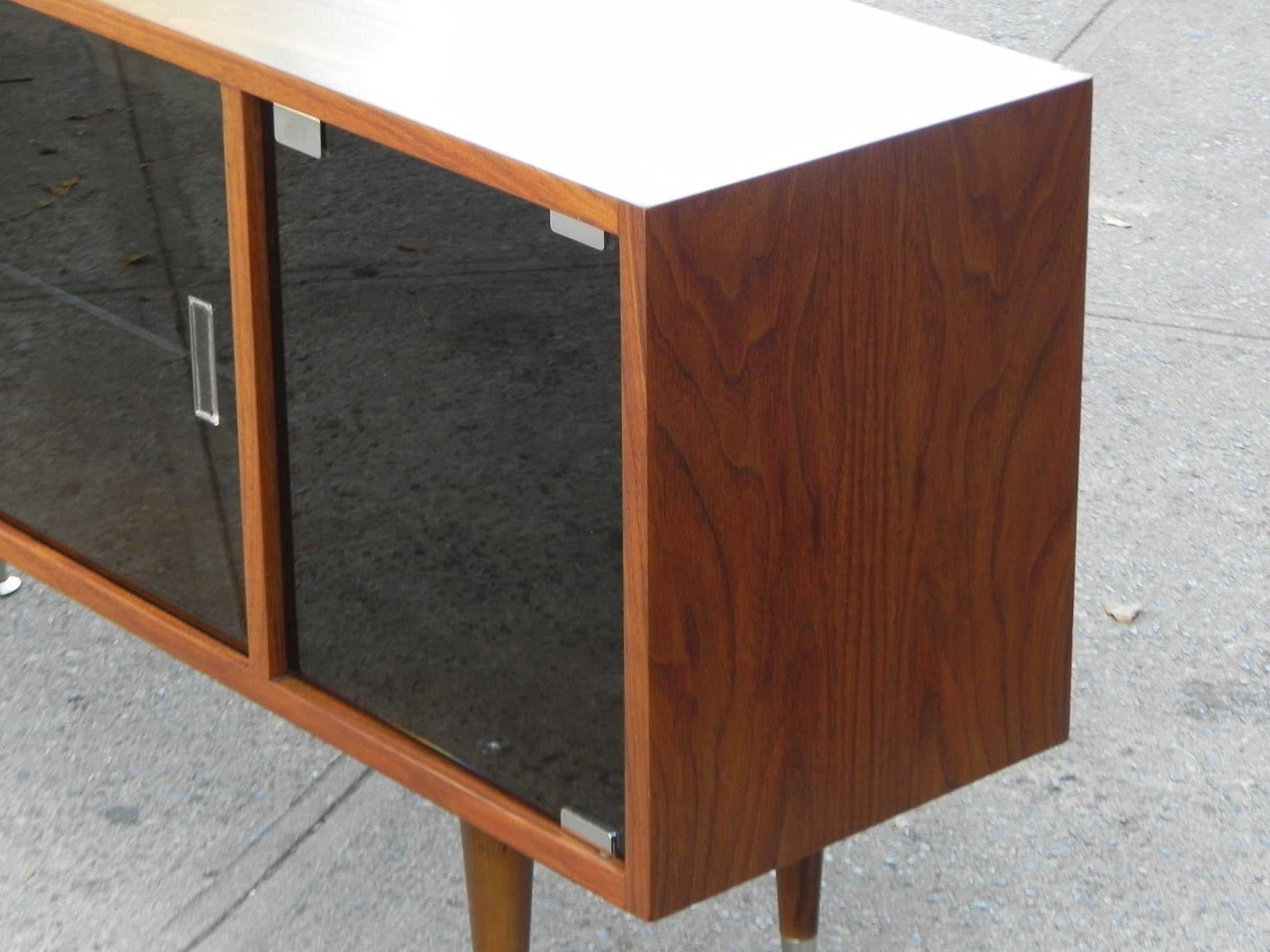 ... Custom Wood U0026 Glass Media Cabinet, Made To Order (Something Like This)  ...