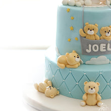 Load image into Gallery viewer, Teddies-on-a-Roll Cake