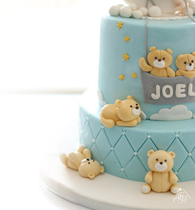 Teddies-on-a-Roll Cake
