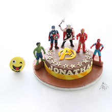Load image into Gallery viewer, Avengers Assemble Cake