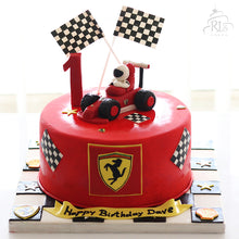 Load image into Gallery viewer, Ferrari Cake
