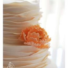 Load image into Gallery viewer, Fondant Ruffle Cake