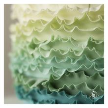 Load image into Gallery viewer, Oh-so-pretty Ombre Ruffle Cake