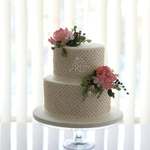 Load image into Gallery viewer, Pretty Peonies Wedding Cake