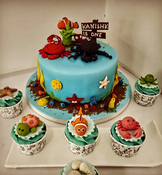 Sea World Cake