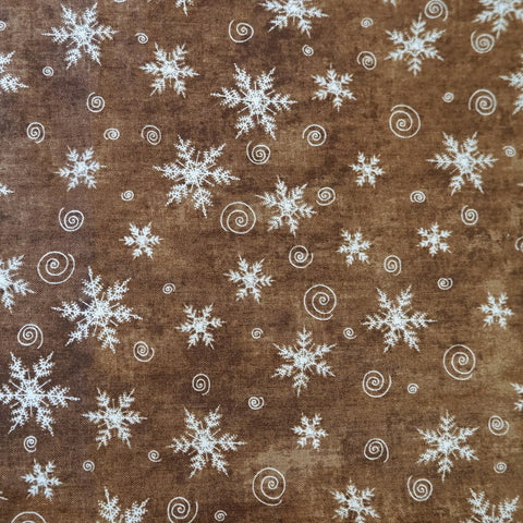 Christmas Whimsy by Terri Degenkolb cotton fabric - Price per half metre