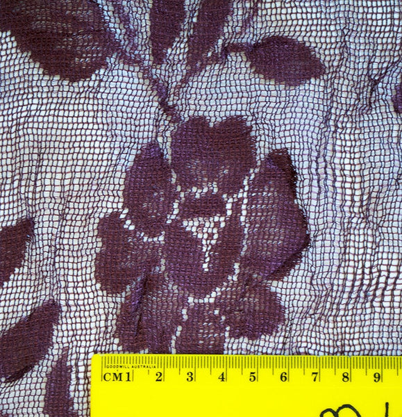 Dark Rose Lace - Price per metre