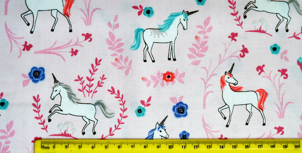 My Unicorn Pink - Riley Blake - 100% Cotton - Price per half metre