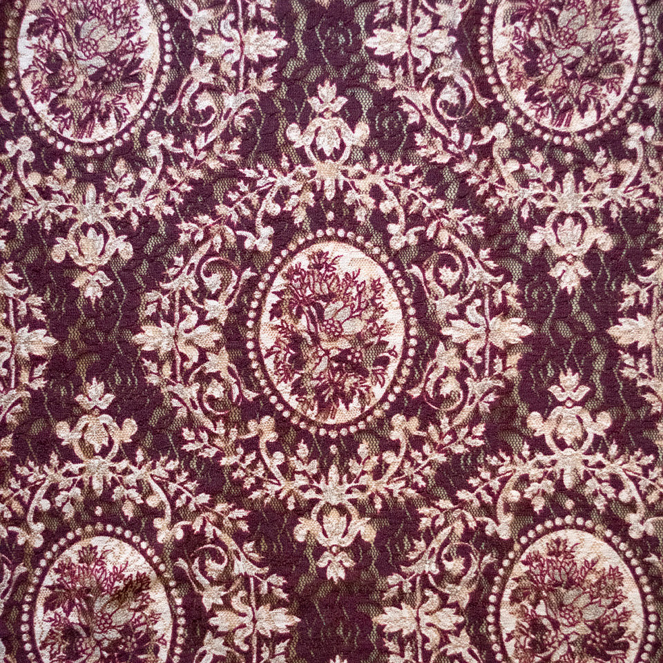 Portrait Lace - Stretch Fabric - Price per metre
