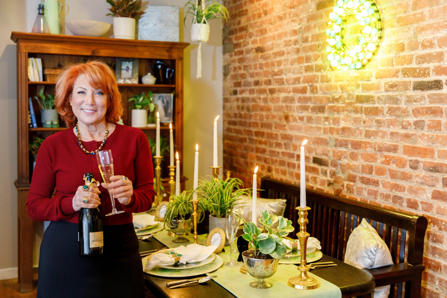 Marcy Blum; designer and event planner, unapologetic lover of parties and plants
