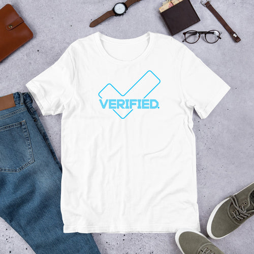 #Verified Premium Short-Sleeve Unisex T-Shirt