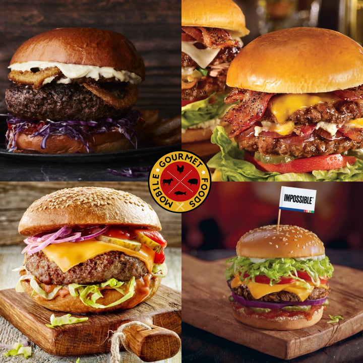 The Ultimate Craft Burger Collection - Mobile Gourmet Foods