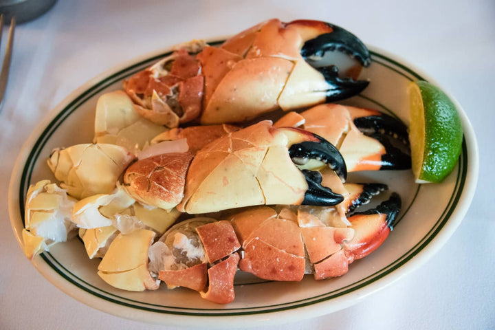 Fresh Florida Medium Stone Crab Claws - Mobile Gourmet Foods
