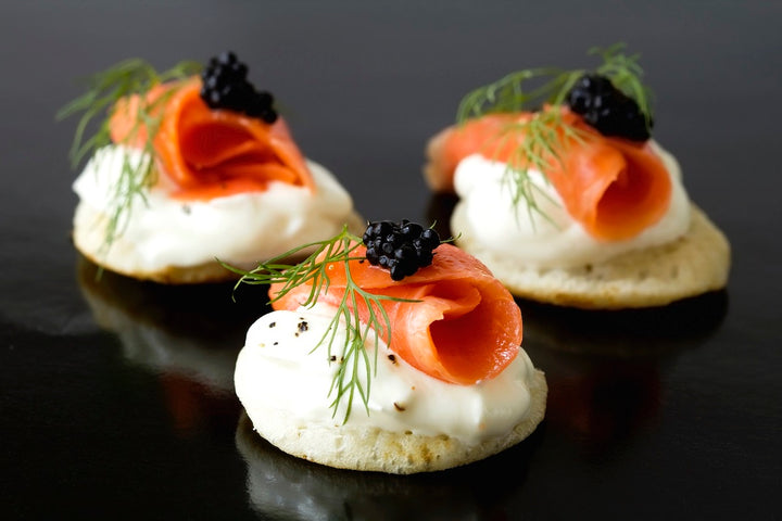 Caviar and Salmon Appetizer Gift Set - Mobile Gourmet Foods