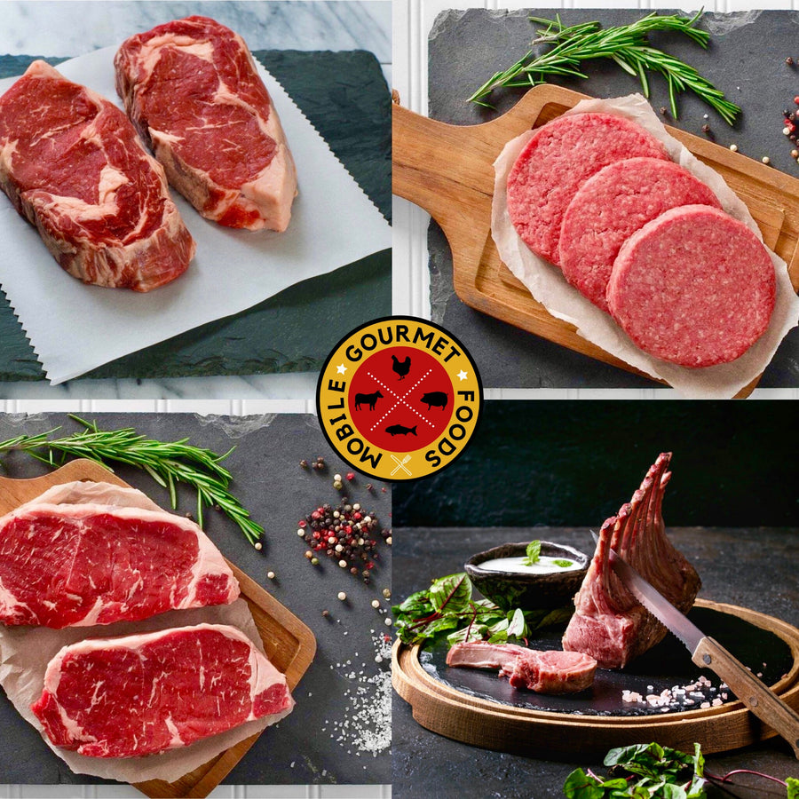 Pasture Perfect Grass-fed Grill Pack - Mobile Gourmet Foods