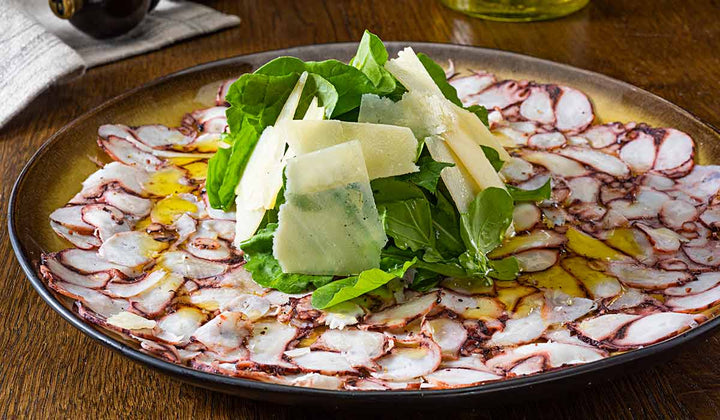 Octopus Carpaccio - Mobile Gourmet Foods