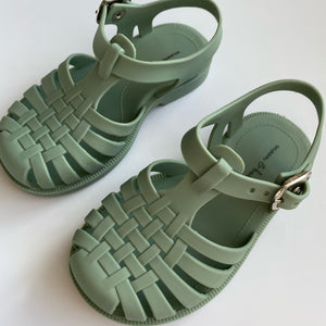 ALBA Jelly Sandals - Sage Green