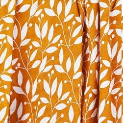 Mustard yellow and white leaf tropical print bamboo cotton muslin swaddle baby blanket