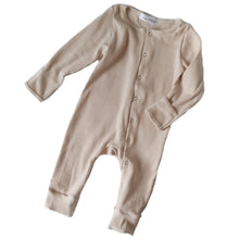 Load image into Gallery viewer, ASPEN Footless Ribbed Romper - Oatmeal