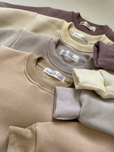 EMERSON Fleece Lounge Set - Sand