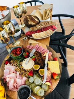 Grazing station, charcuterie board, cheese platter
