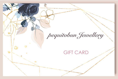 USD$100 pequitobun Jewellery Gift Card - pequitobun Jewellery