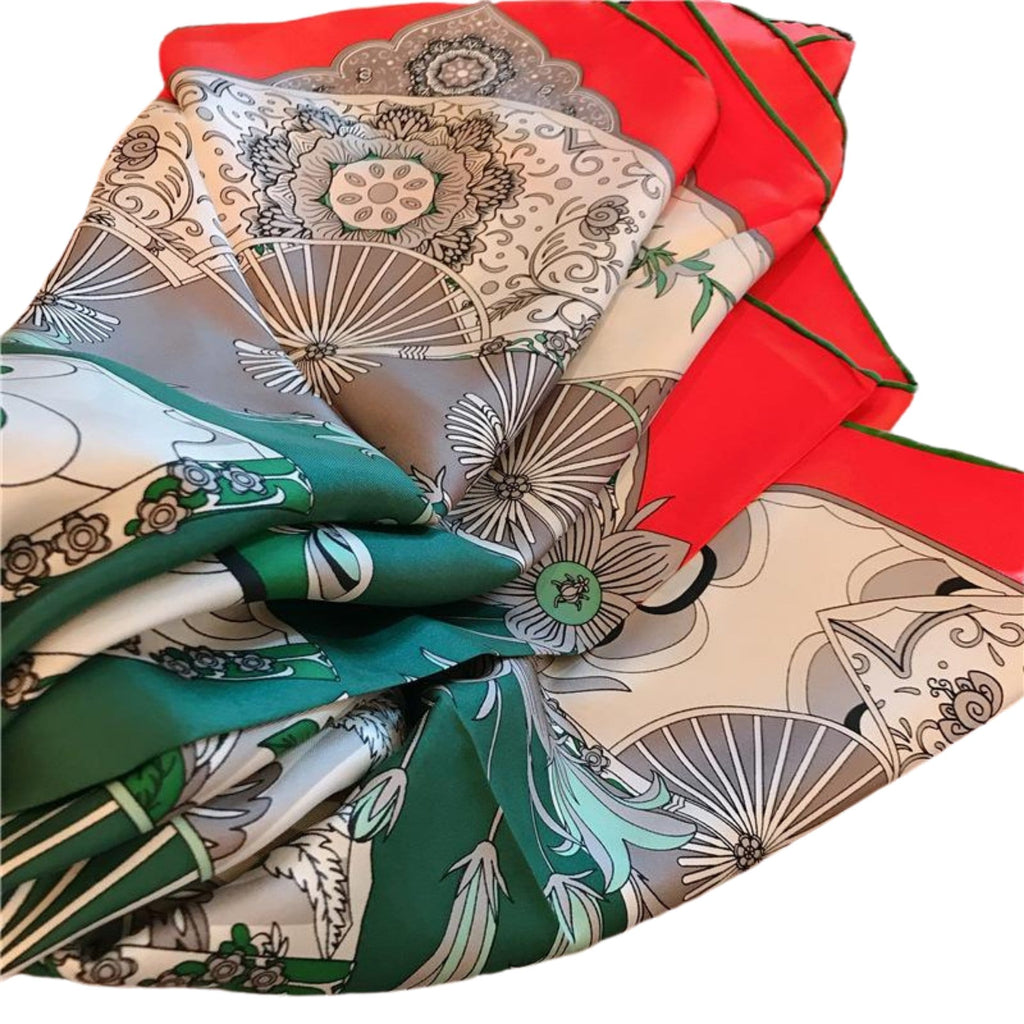 'Summer Goddess' Pure Silk Scarf - Fashion Mode Gallery