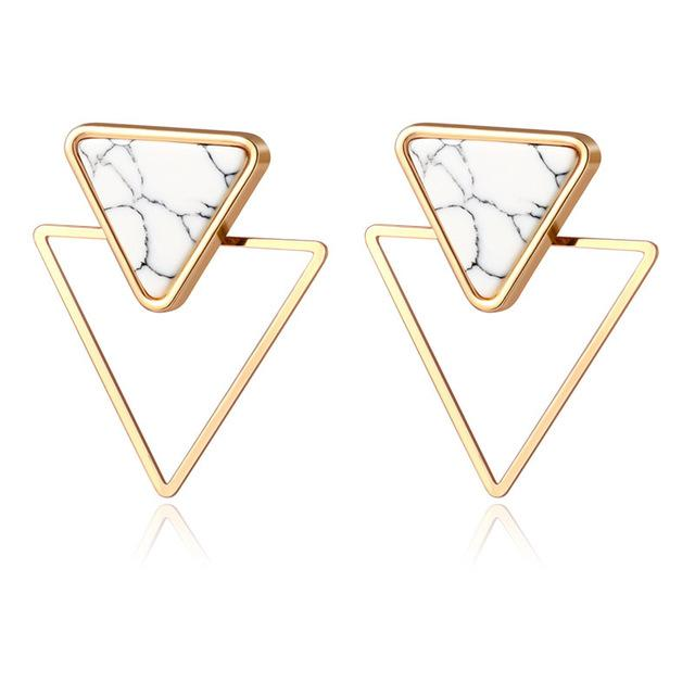 Statement Stud Earrings - Fashion Mode Gallery