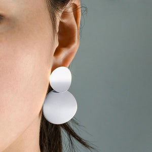 Keep it Classy Drop Earrings in Silver - Fashion Mode Gallery
