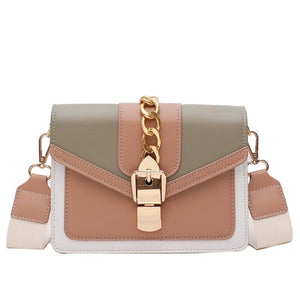 Adele - Stylish Crossbody Buckle Bag - Fashion Mode Gallery