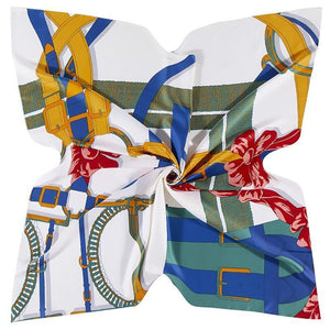 Colorful Stylish Women's Silk Scarf - Fashion Mode Gallery