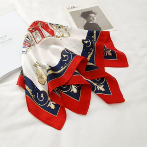 Pure Silk Vintage Bandana - Fashion Mode Gallery