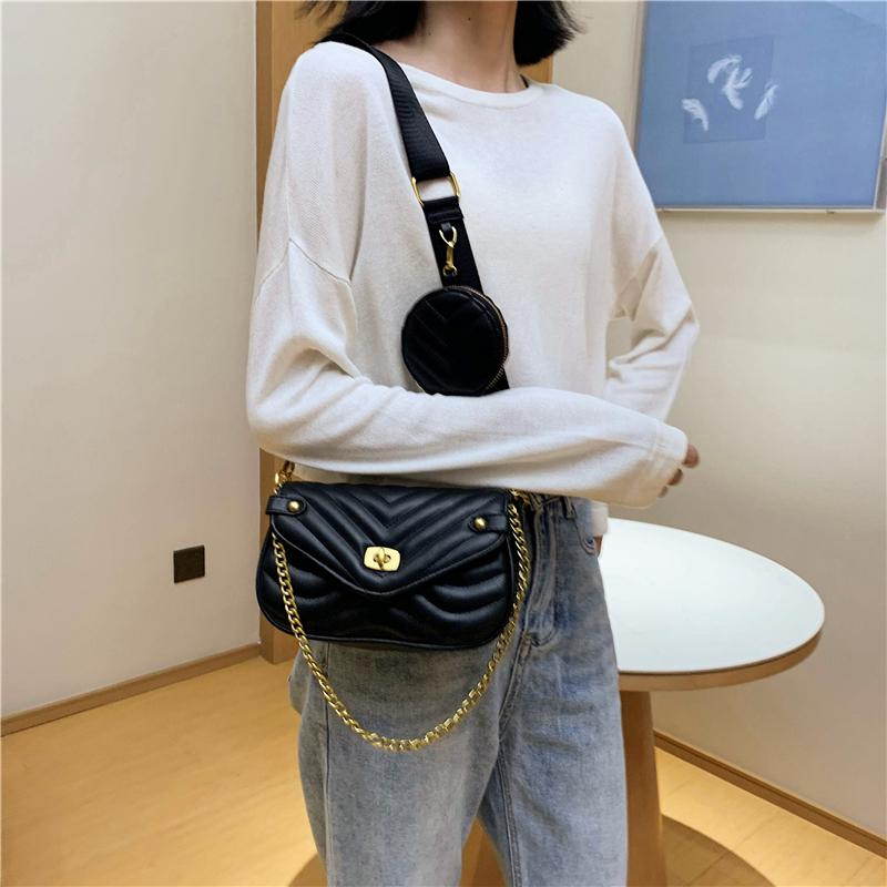 Roxy - Multi Crossbody Bag With Coin Wallet - Fashion Mode Gallery