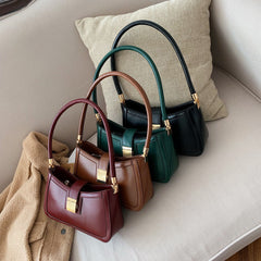 Whitney - Faux Leather Small Shoulder Bag